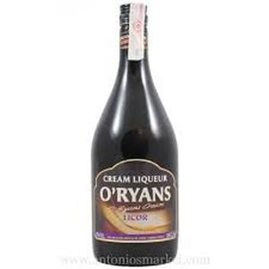 O''Ryans cream  Licor